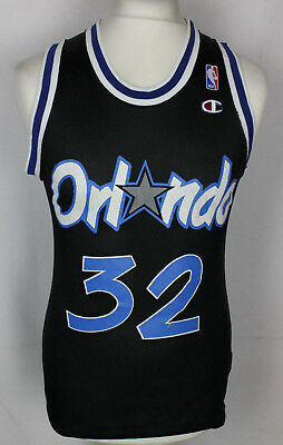 O'neal #32 Orlando Magic Nba Basketball Jersey Shirt Champion Youths Large Rare