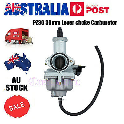 PZ 30mm Lever Choke Carby Carburetor 150/200/250cc PIT Quad Dirt Bike ATV Buggy