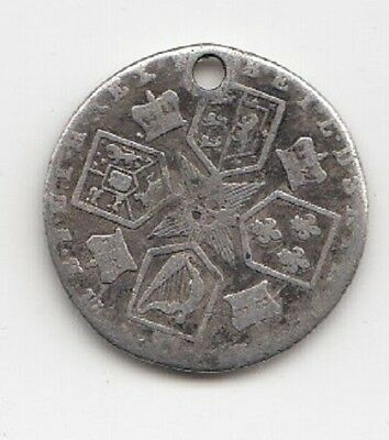 King George III Silver Sixpence