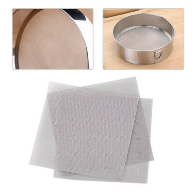 3pcs Stainless Steel 50 Mesh Micron True Filtration Screen Fine Wire Filter