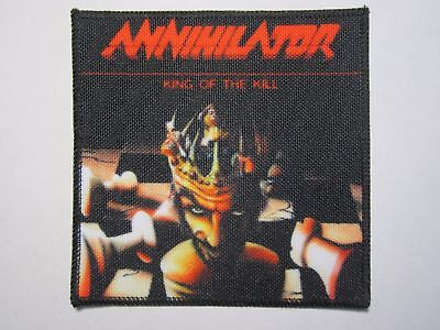 ANNIHILATOR King Of The Kill printed NEW patch thrash metal