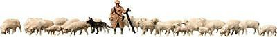 Faller 158051 Sheep + shepherd. Scale Z 1:220