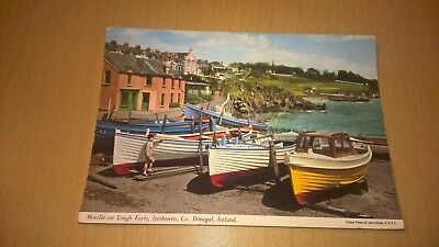 Old Irish Postcard - Moville Lough Foyle Inishowen - Co Donegal Ireland