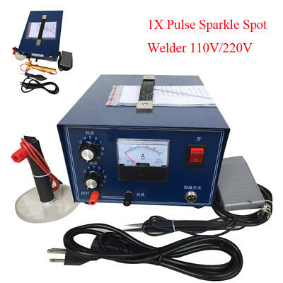 Pulse Sparkle Spot Welder Gold Silver Platinum Jewelry Welding Machine Easy Use