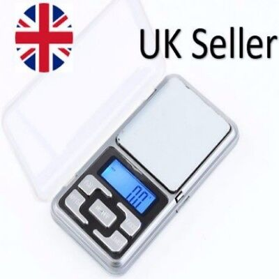 Mini Digital Pocket Weighing Scales 0.01g to 200g Drug Herb Lab Gold Jewelry