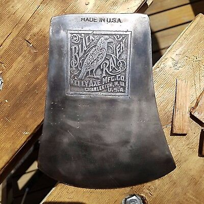 Kelly Black Raven Axe - Tasmanian Pattern - Hard To Find Collectable