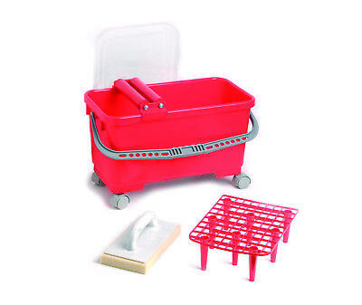 23L Washboy with Perforated twin rollers, grate, wheels and hydro sponge float