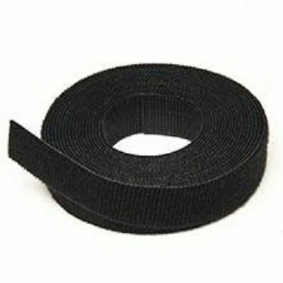 Black Velcro ONE-WRAP® back to back Strapping cable ties 2 CM Wide