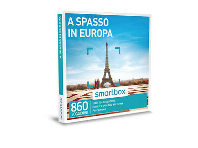 Smartbox  A spasso in Europa formato e-box