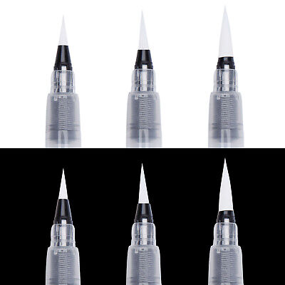 Refillable Pilot Water Brush Pen for Water Color Calligraphy Drawing 3 Sizes