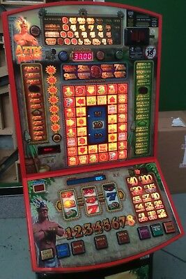 AZTEC TREASURE £100 Jackpot Fruit Machine takes new £1 (not deal or no deal)
