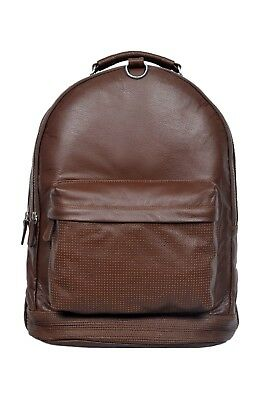 Pack of 6 Wholesale Backpack Tan 1005 Duffle Travel Real Genuine Leather Bag