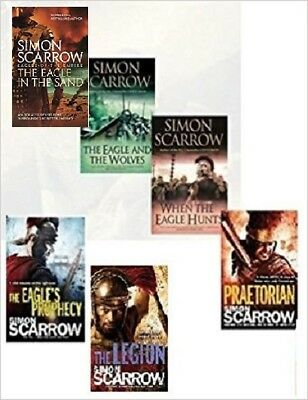 Simon Scarrow __  6 Book Set __ Brand New __ Freepost Uk