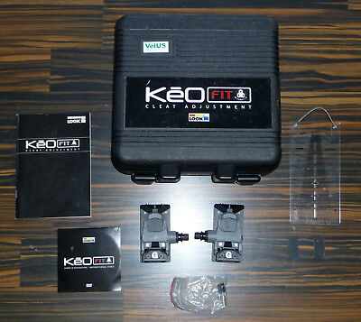 Look Keo Fit 2 System Rennrad-Pedal-Platten Positionierung Cleat Adjustment