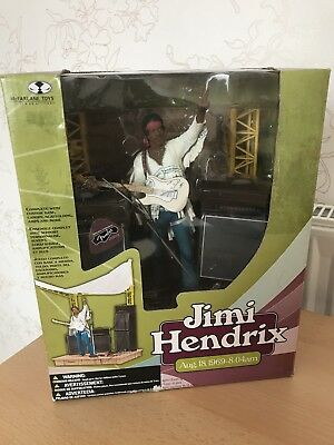 Jimi Hendrix Woodstock (August 18th, 1969) McFarlane Toys Boxed Stage Set [Rare]