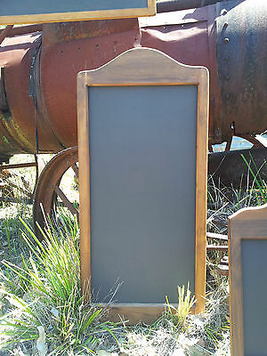 Curved Top Timber Frame Chalkboard Menu Board Messages Specials Prices Home Shop