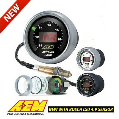 New GENUINE AEM Digital Wideband AFR UEGO Controller w/ 4.9 LSU Sensor 30-4110