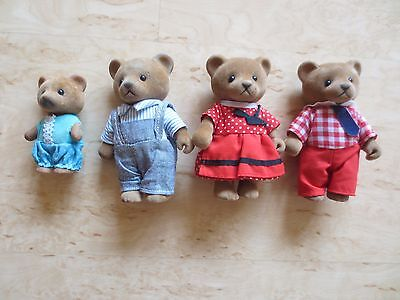 +++Simba Bear Family 4 Figuren+++