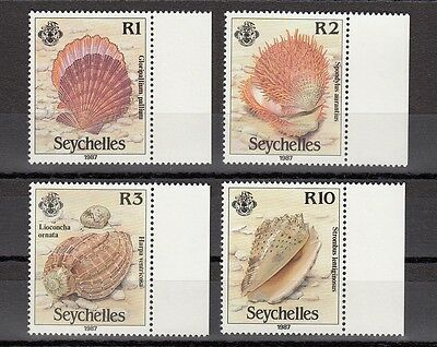 Timbre Stamp  4 Seychelles Y&t#517-20 Coquillage Shell Neuf**/mnh-Mint 1990 ~A50