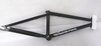 "BSD Trail Or Park Kriss Kyle Signature Series BMX Bike Frame Black 9.5""ST NEW"