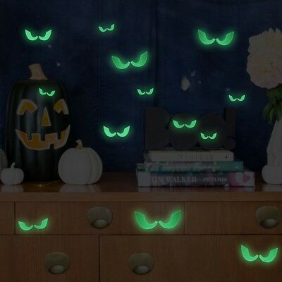 UNOMOR Halloween Luminous Glow In The Dark Wall Sticker, Noctilucent Ceiling 23