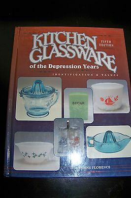 Identification/price Guide Book On Kitchen Glassware
