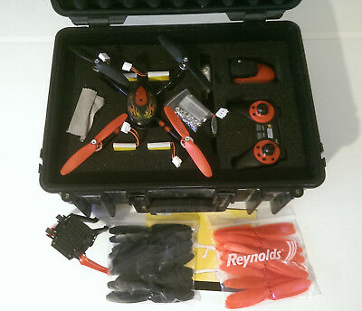 RC Logger RC EYE One Xtreme Quadcopter - Pelican Caase and LOTs of Accessories