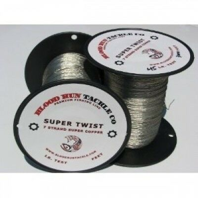 Blood Run Tackle Copper Fishing Line 1000' 20kg. Free Delivery