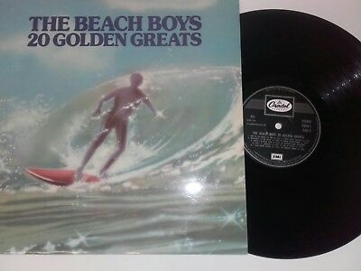 The Beach Boys 20 Golden Greats Orig 1983 Capitol Uk A1/b1 Lp Record Ex