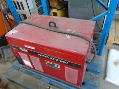 Lincoln Powerwave Welder 455 M