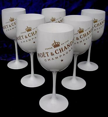 Moet Chandon Ice Imperial Champagne Flutes X 6 Unboxed New Style 2017 Brand New