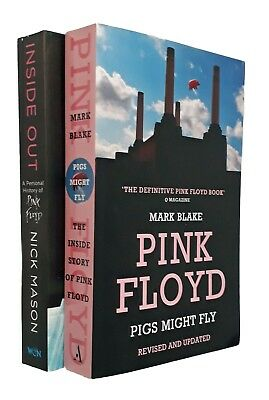Pink Floyd 2 Book Pack Inside Out Pigs Might Fly Nick Mason Mark Blake Biography