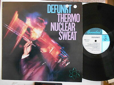 Defunkt Thermo Nuclear Sweat 1982 Uk Edition Hannibal Label Lp C03