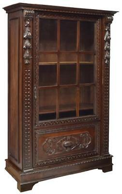 RENAISSANCE REVIVAL DISPLAY CABINET, early 1900s