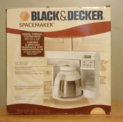 Black & Decker Space Saver Coffee Maker ODC 425 *NEW IN BOX*Old Stock*
