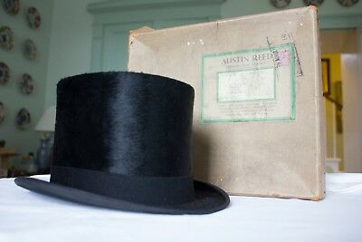 1930's Austin Reed Silk Top Hat