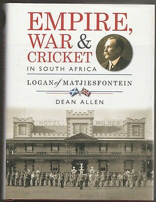 EMPIRE, WAR & CRICKET IN SOUTH AFRICA: Dean Allen (Cape Town, 2015)