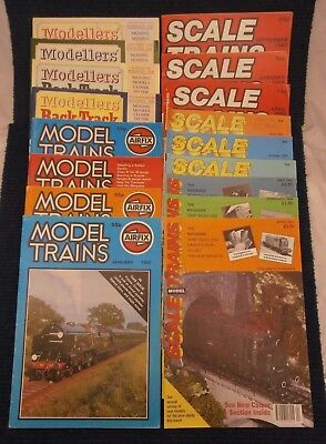 Model Railway Magazine Collection Variety Scale Trains Modellers' Back Track Vol