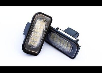 Mercedes Benz C-Class W203 Saloon LED License Number Plate Lights MB AMG Brabus