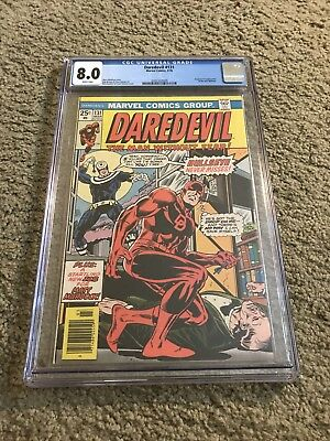 Daredevil #131. 1st Appearance Of Bullseye! CGC 8.0 White Pages!