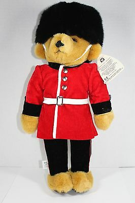 Vintage Merrythought British Royal Guardsman Handmade In Uk Teddy Bear Qvc New!
