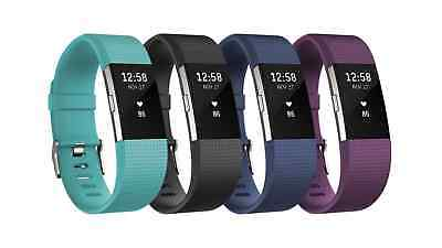 NEW Fitbit Charge 2 (pebble)-  [BRAND NEW and NEVER USED] Free & Fast shipping