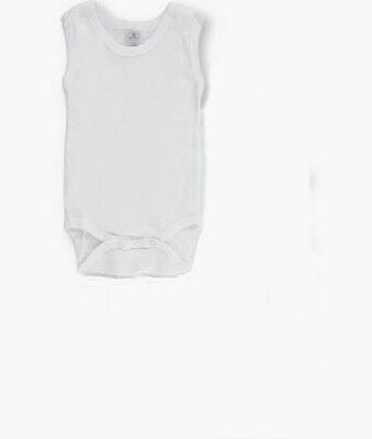 16 New Sleeveless One Piece Creeper Cotton Small 6M Blank Clearance