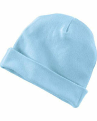 80 Blue Newborn Cotton Beanie Baby Hat Embroidery Blanks Clearance