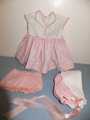 """Vintage 1959 American Character Tiny Tears Original Outfit Dress For 20"""" Doll"""