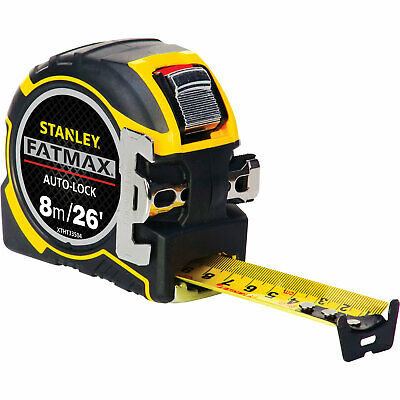 Stanley FatMax Pro Autolock Tape Measure Imperial & Metric 26ft / 8m 32mm