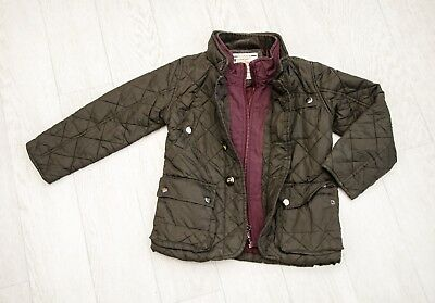 IMMACULATE boys 'NEXT' QUILTED JACKET Age 5 YEARS