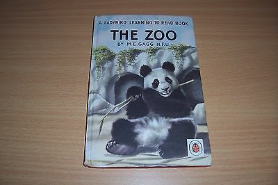 LADYBIRD BOOK The Zoo by M.E. Gagg (Hardback, 1960) 2/6 NET