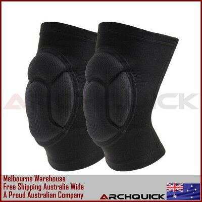 Knee Pads Sleeves Brace Skateboard Bicycle Skate Scooter Cycling GYM Dancing