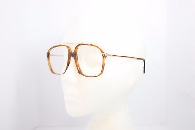 Rodier Licefa Vintage Eyeglasses Eyewear Made in WGermany Brown Pilot 1785K 58mm